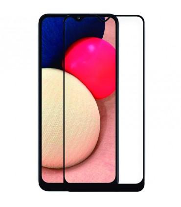 Protector Pantalla Cristal Templado Samsung A025 Galaxy A02s 3D Negro