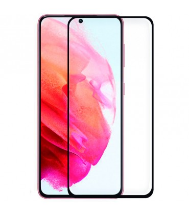 Protector Pantalla Cristal Templado Samsung G990 Galaxy S21 3D Negro