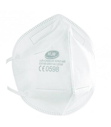 Mascarilla Higienica NR FP2 / KN95 Pack 50 Unidades Blanca