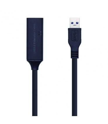 Cable Compatible Universal USB 3.0  USB M - USB H 5M Amplificado