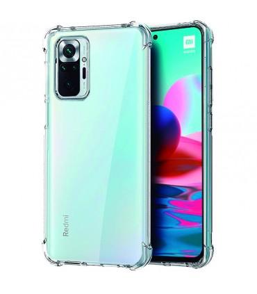 Funda Silicona Anti-Shock Xiaomi Redmi Note 10/ 10S Transparente