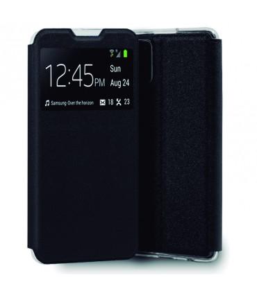 Funda Flip Cover Samsung A025 Galaxy A20s Liso Negro
