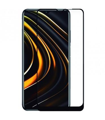 Protector Pantalla Cristal Templado Xiaomi Pocophone M3 / Redmi 9T 3D Negro