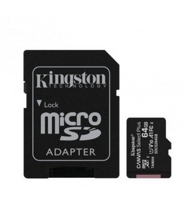 Tarjeta Micro SD 64GB Clase 10 Kingston
