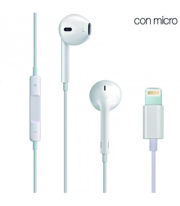 Auriculares Apple (Lightning) Compatible iPhone 7 / 7 Plus / 8 / X