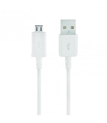 Cable Compatible Universal USB a Micro-USB LT TECH 1M Blanco