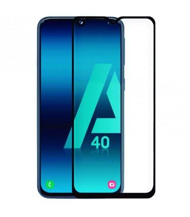 Protector Pantalla Cristal Templado 3D Samsung Galaxy A40 Negro